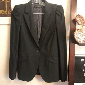 Zara women's sz medium career style grey blazer
